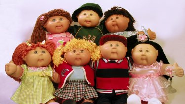 Cabbage Patch Kids are distributed by Funtastic