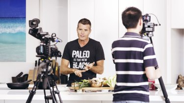 """Chef Pete Evans has called himself a """"warrior"""" for the Paleo diet."""