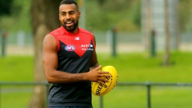 AFL footballer Heritier Lumumba is at the centre of the doco 'Fair Game'.
