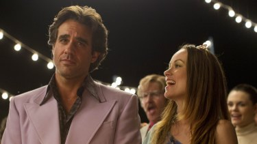 Bobby Cannavale plays Richie Finestra, a record company executive fighting to save his label, with Olivia Wilde as Devon, his wife.