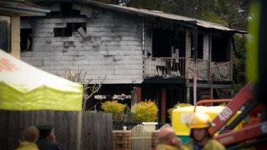 Eleven people died in the Slacks Creek house fire.
