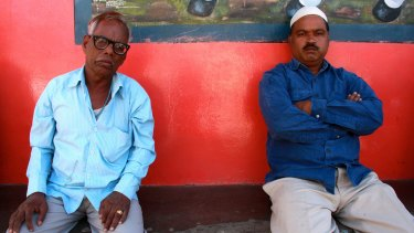 Panna Lal, left, whose family paid a terrible price in the years following the Bhopal disaster.