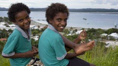 Children on Thursday Island.