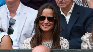 Pippa Middleton attends day thirteen of the Wimbledon Lawn Tennis Championships at the All England Lawn Tennis and Croquet Club on July 12, 2015 in London, England.