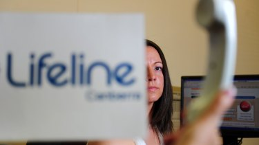 """Lifeline has added """"2016 Marriage Equality Plebiscite"""" to its list of call categories."""