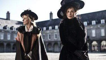 Chloe Sevigny and Kate Beckinsale in <i>Love & Friendship</i>.