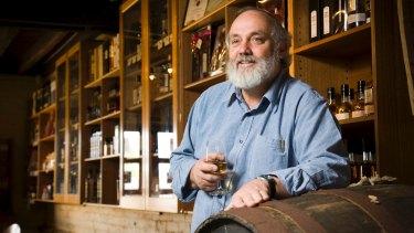 Bill Lark of Hobart's Lark Distillery.
