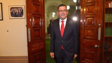 A big job ahead: New Victorian Premier Daniel Andrews.