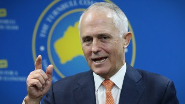 Prime Minister Malcolm Turnbull says WA's share of GST wouldn't pass the pub test.