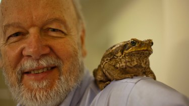 Dr Rick Shine, biologist at the University of Sydney. Finalist in the 2015 Eureka Prizes for Science for his research on cane toads.