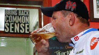 """""""I was sober in the morning"""": former prime minister Tony Abbott."""