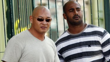 Awaiting execution: Andrew Chan (left) and Myuran Sukumaran (right) in Kerobokan prison in Bali, Indonesia in 2011.