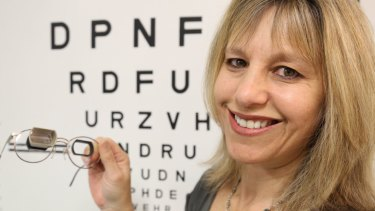 Optometrist Sharon Oberstein's PhD research includes drivers using a bioptic telescope.