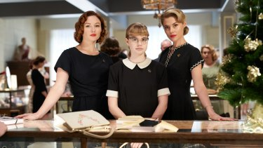 Alison McGirr, Angourie Rice and Rachael Taylor in Ladies in Black.