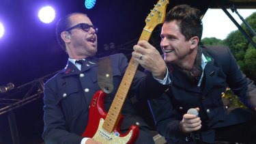 Kirk Pengilly (left), of INXS, pines for simpler times.