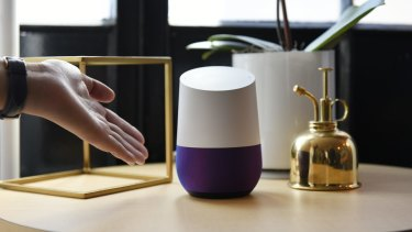 Google Home. Cute. Knows everything.