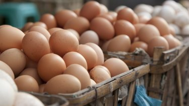 The Model Code of Practice defines 'free range' as eggs from farms with stocking densities of no more than 1500 birds a hectare.