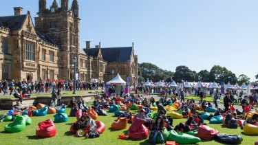 The University of Sydney's open day is the biggest day on the university calendar.