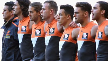 Hard to love: GWS have moved from their initial Blacktown base to Homebush and play three premiership games a season in Canberra.