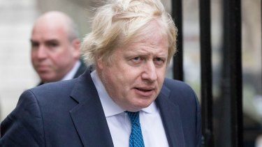 'Pompous popinjay': UK foreign secretary Boris Johnson has accused anti-Trump politicians of jeopardising UK-US trade relations.