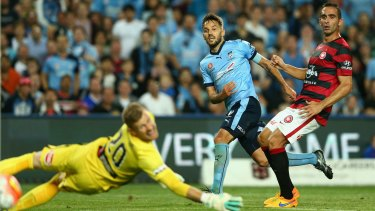 Milos Ninkovic fires in the late winning goal.