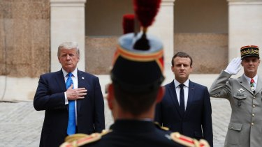The Bastille Day invitation to Trump was unexpected.