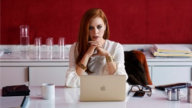 Amy Adams spends a lot of time reading in Tom Ford's film based on the novel Tony and Susan.