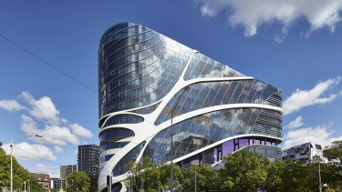 The Victorian Comprehensive Cancer Centre is a major addition to Melbourne's healthcare, as well as the city's architectural legacy.