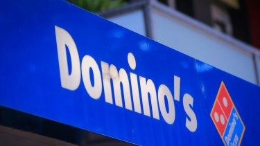 Domino's growth is slowing down closing at at $41.50 on Tuesday.