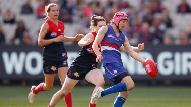 Could Heather Anderson play for the GWS Giants at Manuka Oval as part of the proposed women's AFL?