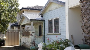Ricky Slater-Dickson was found inside this house in the Newcastle suburb of Hamilton.
