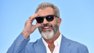 Mel Gibson at the Cannes Film Festival this year.
