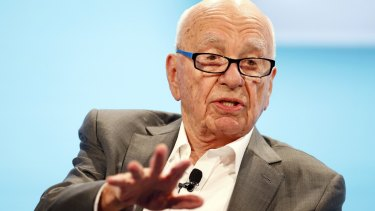 Rupert Murdoch's News Corp has been focusing on increasing digital revenue to compensate for print declines.