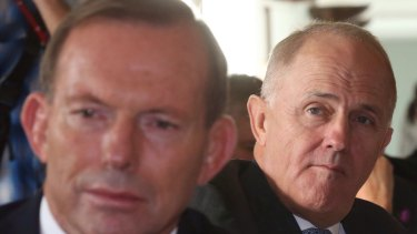 Will Malcolm Turnbull have to keep his eye on Tony Abbott?