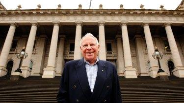 Legendary journalist and Olympic historian Harry Gordon.