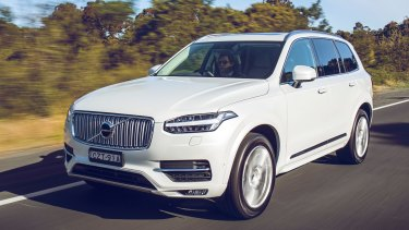The next model of the Volvo XC90 : For Volvo to come out with such a public affirmation of electric cars moves things up a gear.