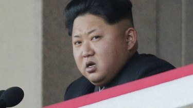 North Korean leader Kim Jong-un.