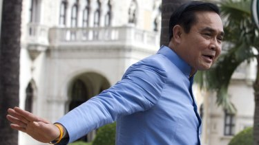 Former army commander Prayuth Chan-ocha who became Prime Minister after a military takeover in May.