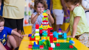 Lego inspires a new generation of construction workers.