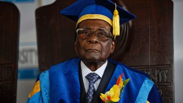 Robert Mugabe has been dismissed as the leader of Zimbabwe's ruling party ZANU-PF.
