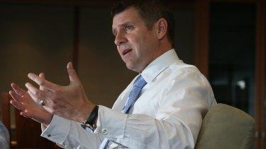 NSW Premier Mike Baird.