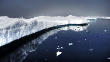 """""""Glaciers are melting so fast that they now create dangerous torrents,"""" says Watt-Cloutier."""