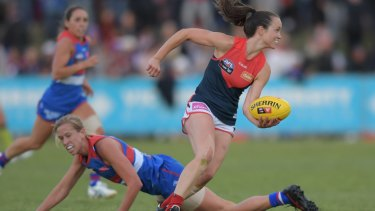 "AFLW star Daisy Pearce said she noticed an ""unprecedented physicality and intensity, almost at the expense of regard for personal safety"" in the early rounds of competition."