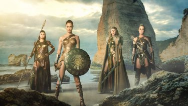 The film is the first theatrical release starring the Princess of the Amazons.
