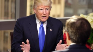 President-elect Donald Trump questioned nearly four decades of US policy on 'Fox News Sunday'.