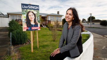 While Labor placed Lisa Singh sixth on their Senate ticket, her personal vote was emphatic.