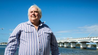 Clive Palmer has defended legal action against Chinese firm CITIC.