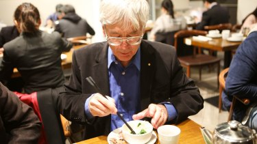 """""""If it was some other rich man you'd be going to Rockpool"""": Dick Smith eats lunch in Sydney's Chinatown."""