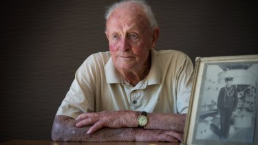 David Manning survived the sinking of HMAS Perth in World War II.