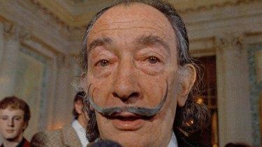 Spanish surrealist painter Salvador Dali in 1973.